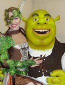 [Image] Heidi Deluca as the Funky Fairy with Shrek