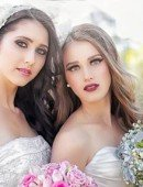 [Image] Shannon and Siobhan Bridal shoot